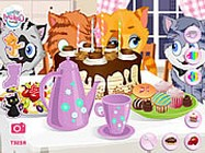 Kitty tea party online
